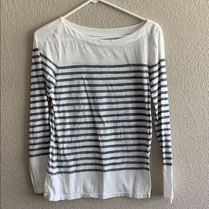 LOFT long sleeve, boat neck shirt